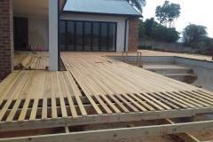 Garapa deck
