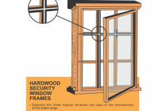Steelwood Security Window Description