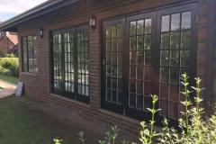 Cottage Pane 3 Leaf Folding Sliding Door