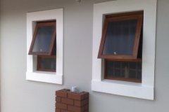 Full Pane Top Hung Window